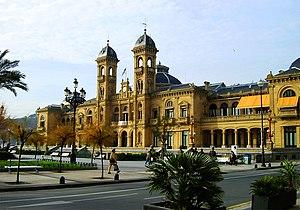 Español: Ayuntamiento de San Sebastián (España...