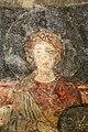San lorenzo in insula, cripta di epifanio, affreschi di scuola benedettina, 824-842 ca., madonna in trono bendicente e sei angeli con scettro e globo 12.jpg