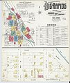 Sanborn Fire Insurance Map from Big Rapids, Mecosta County, Michigan. LOC sanborn03930 004-1.jpg