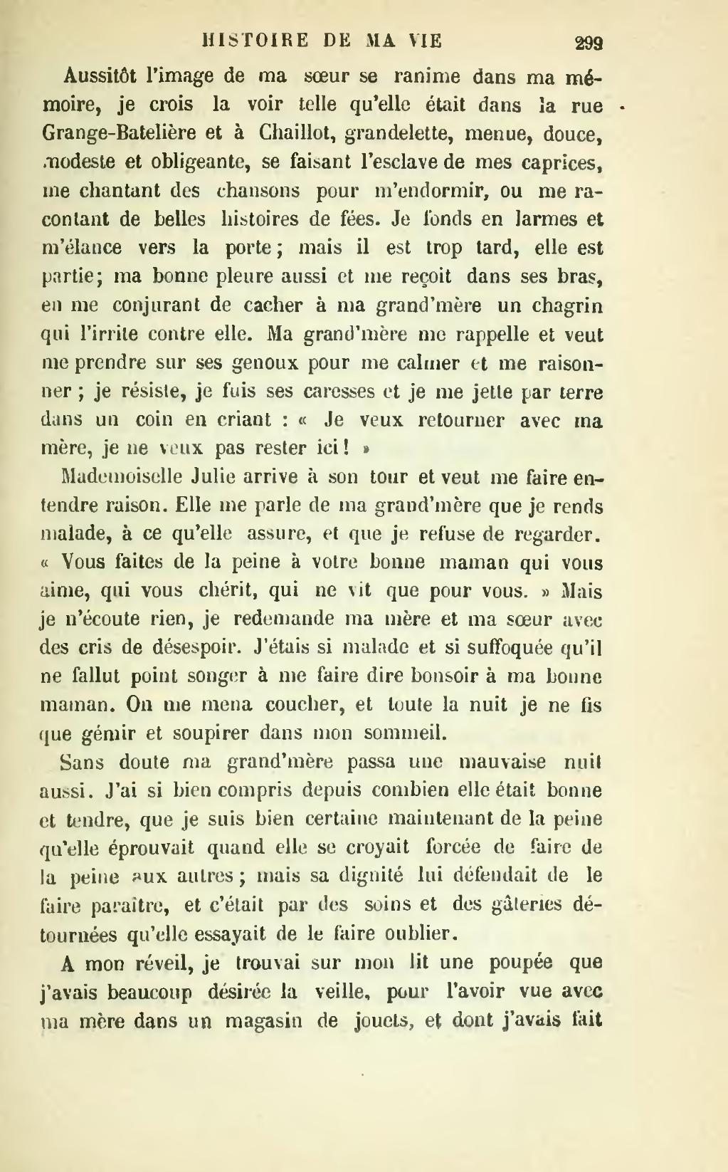 Page Sand Histoire De Ma Vie Tome 2 Djvu 309 Wikisource
