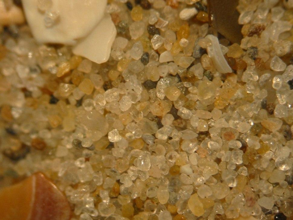 Sand from Wijk aan Zee, the Netherlands