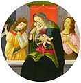 Sandro Botticelli - Mary with the Child, John the Baptist and an angel.jpg