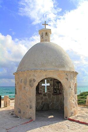 Chan Santa Cruz - Chan Santa Cruz Monument in Cozumel