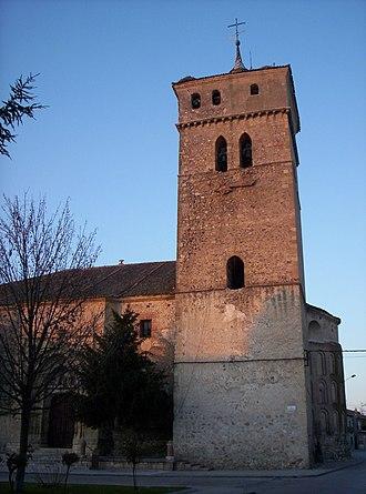 Aguilafuente - Church of Santa María, of mudéjar and romanic style.