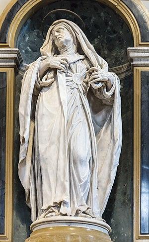 Juliana Falconieri - Image: Santa Maria dei Servi (Padua) Altare dell'Addolorata Santa Giuliana Falconieri