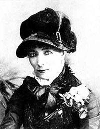 Sarah Bernhardt em junho de 1877