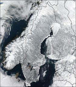 Vinter i halva landet