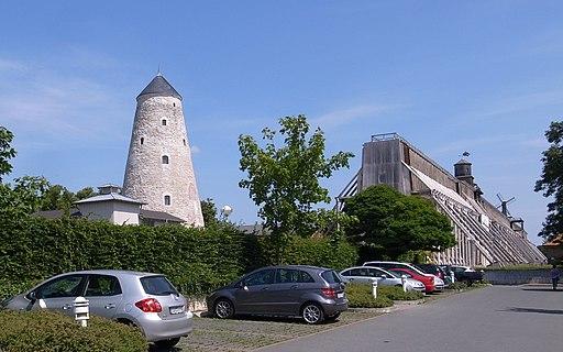 Schönebeck,Gradierwerk und Soleturm(Bad Salzelmen)