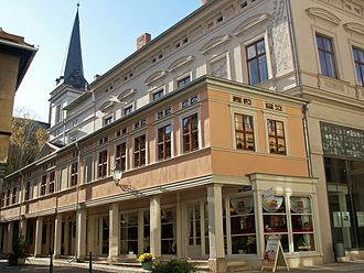Aschersleben - Scharren arcades