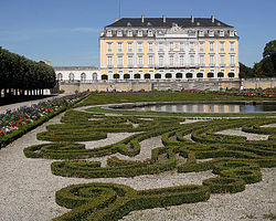 Augustusburg, a typical Baroque palace from North Rhine-Westphalia