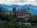 Schloss Fahlburg, 13. Jhd, Prissian, am Jakobsweg zwischen Meran und Bozen, Trentino, Südtirol, Italien - panoramio.jpg