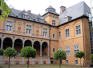 European Museum of the Year Award - Image: Schloss Rheydt North
