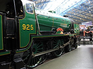 SR V Schools class - 925 Cheltenham at the National Railway Museum