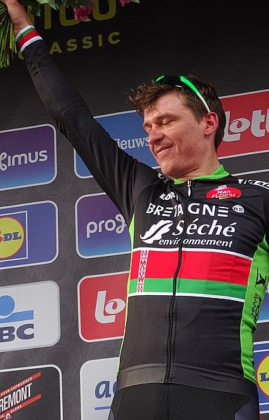 Reportage réalisé le mercredi 8 avril à l'occasion de l'arrivée du Grand Prix de l'Escaut 2015 à Schoten, Belgique.