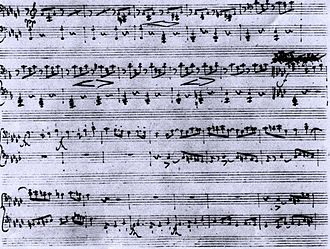 Manuscript page from Schubert's Fantasy in F minor, D 940 SchubertFantasieFMinorAutograph.jpg