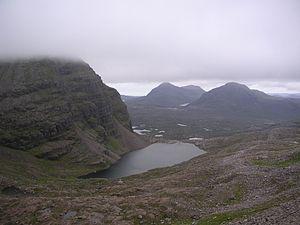 Torridon Hills - Descent from Beinn Eighe