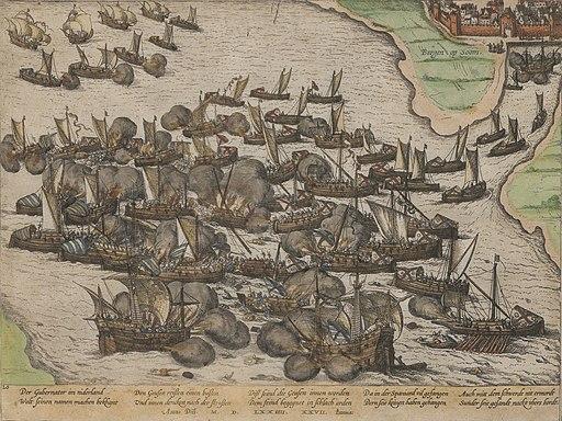Sea Battle Bergen op Zoom 1574