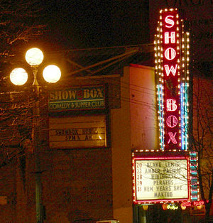 The Showbox - Image: Seattle Showbox marquee 01