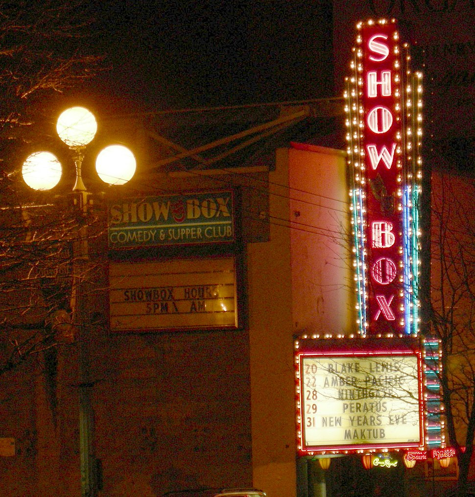 Seattle - Showbox marquee 01
