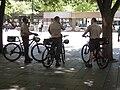 Seattle - rangers in Westlake Park.jpg