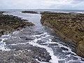 Seawashed rocks near the Lotheran.jpg