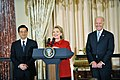 Secretary Clinton, VIce President Biden and Dr. Biden Co-Host a Luncheon in Honor of Chinese President Hu Jintao (5371703392).jpg