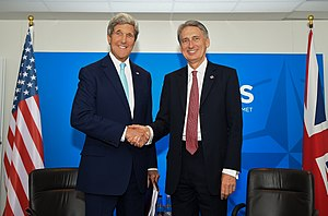 Philip Hammond - Hammond meeting with US Secretary of State John Kerry