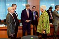 Secretary Kerry Chats With Ambassador McKinley, Special Representative Olson and USAID Administrator Smith (29832138630).jpg