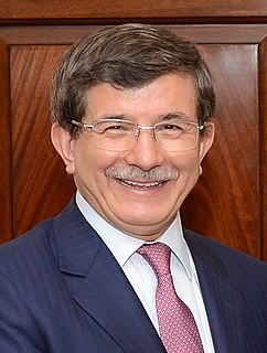 Ahmet Davutoğlu Turkish politician