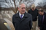 Secretary Mattis visits the Pentagon Memorial (32489274735).jpg
