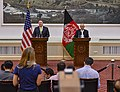 Secretary Pompeo Participates in Joint Press Conference With Afghanistan President (43259196172).jpg