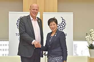 Chris Grayling - Grayling as Secretary of State for Transport in Tokyo
