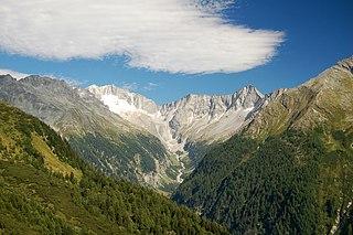 Ankogel Group mountain range