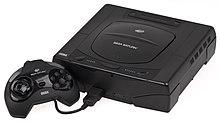 A Sega Saturn console