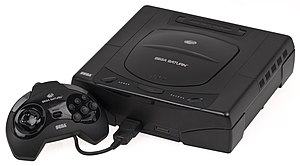 Fifth generation of video game consoles - Image: Sega Saturn Console Set Mk 1