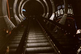 London Trocadero - SegaWorld entrance, 1998