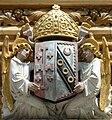 Selwyn College Heraldic Coat of Arms, Main Gate.jpg