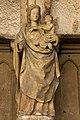 Semur en Auxois-Collégiale Notre Dame-Vierge à l'enfant-20110304.jpg