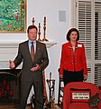 Senator Jim Webb and Lynda Bird Johnson Robb, daughter of former U.S. President Lyndon B. Johnson and also former First Lady of Virginia, wife of Chuck Robb.jpg