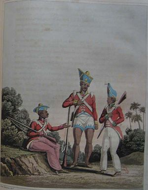 Madras Regiment - Sepoys of the Bombay, Bengal, and Madras Armies