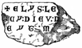 Sepulchral Slab found on the Site of Chertsey Abbey (Surrey Archaeological Collections).png