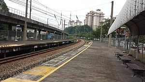 Seputeh Komuter station - Image: Seputeh station A1