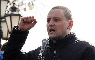 Sergei Udaltsov Russian left politician