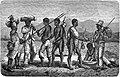 Seven Years in South Africa, page 213, meeting between Baustos returning from diamond fieds and other going thither.jpg