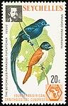 Seychelles paradise flycatcher 1976 stamp.jpg