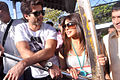 Shahid & Priyanka board train from Marine Lines station 07.jpg