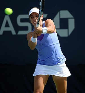 Sharon Fichman - Fichman at the 2013 US Open