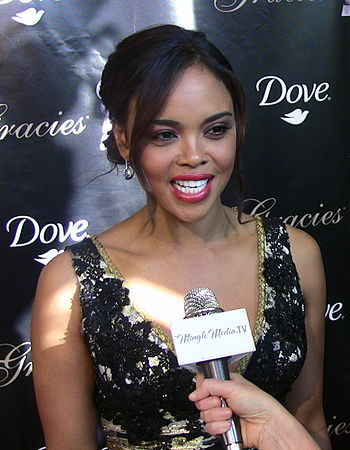 Sharon Leal at the 36th Annual Gracie Awards Gala