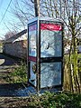 Shattered phonebox at Oad Street - geograph.org.uk - 366428.jpg
