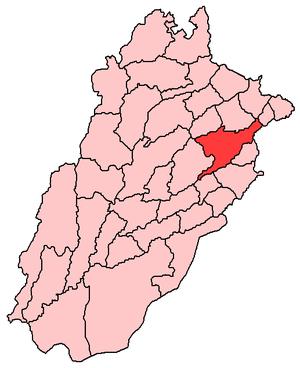 Map of Punjab Pakistan with Nankana Sahib and ...